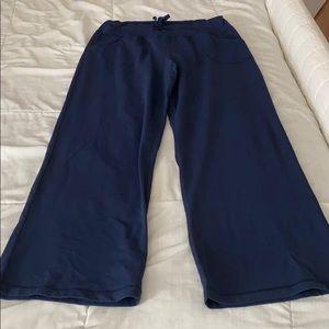 Lululemon navy wide-leg pants